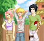 +Naruto+ Spring in Konoha
