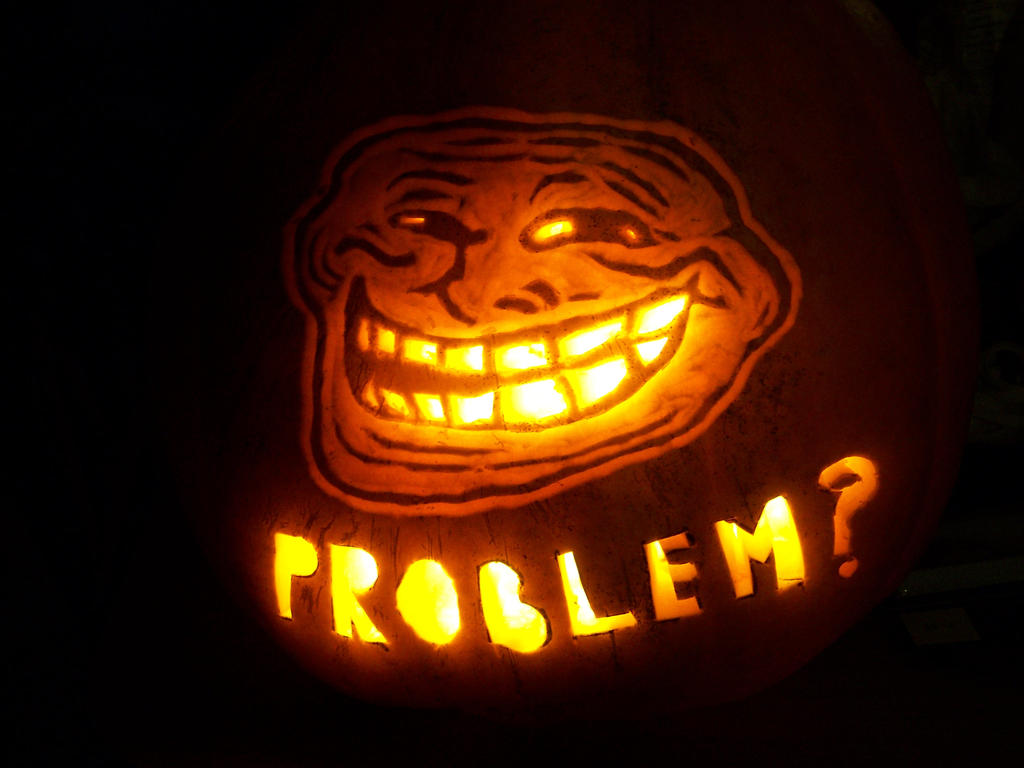 Cool face pumpkin by yxzy on deviantart Awesome pumpkin drawings