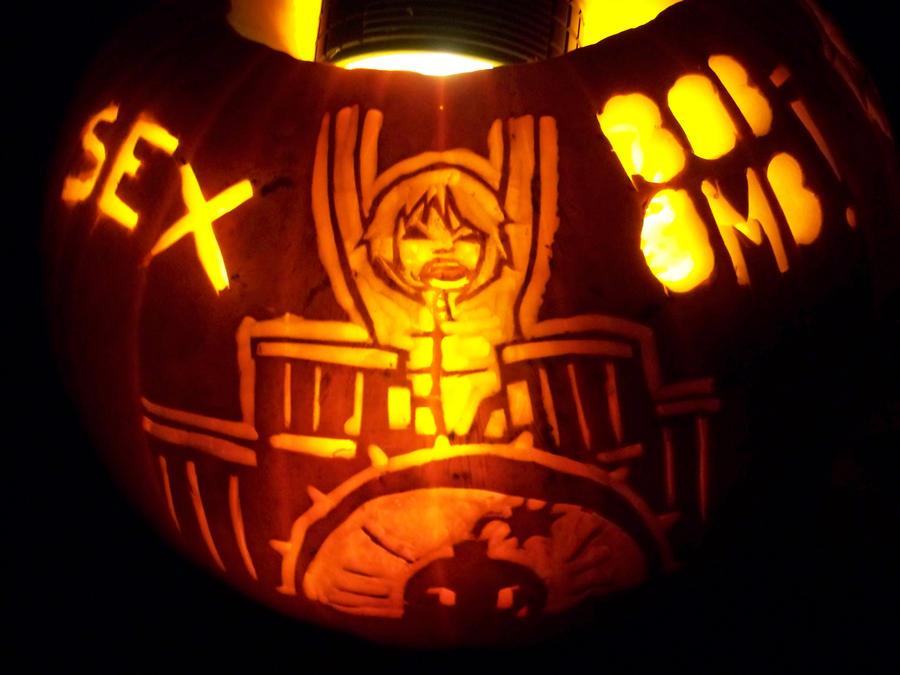 Scott Pilgrim Pumpkin 3: Kim by YXZY