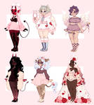 hecka late valentine adopts (closed)