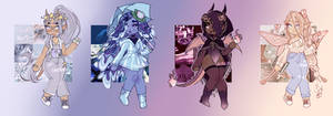more rainbow adopt auctions! (closed)