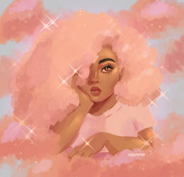 peachy skies
