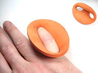 ring a day 92...pinky ball by noformdesign