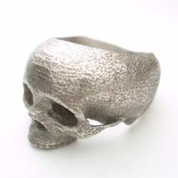 skull ring by noformdesign