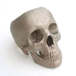 full skull ring by noformdesign