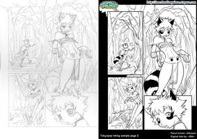 Tokyopop inking sample page 2 by baby-marshmallow