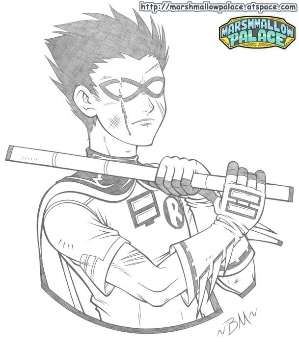 Robin doodle