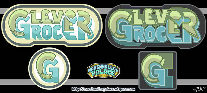 Clever Grocer Logo Commission