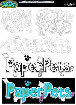 Pets Logo Concepts Process
