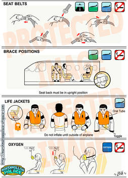 Plane Safety Vector page2