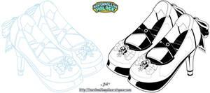 Princess Heels Commission
