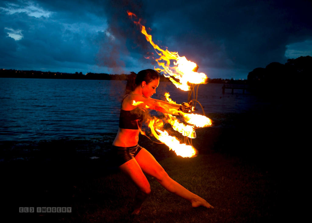 Fire Dancer by EL3-Imagery