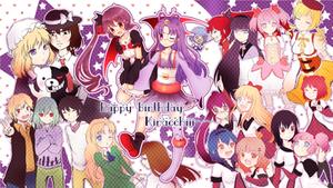 Happy Birthday Kiracchiiiiiii by marikyuun