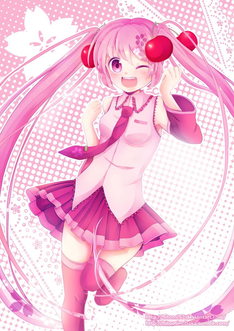 Sakura Miku~ by Hitomi97