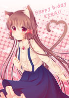 Pocket Nyan ~ HBD Kirarin!! by marikyuun