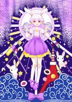 The Celestial White Rabbit by marikyuun