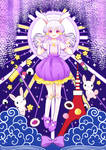 The Celestial White Rabbit
