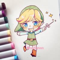Toon Link by marikyuun