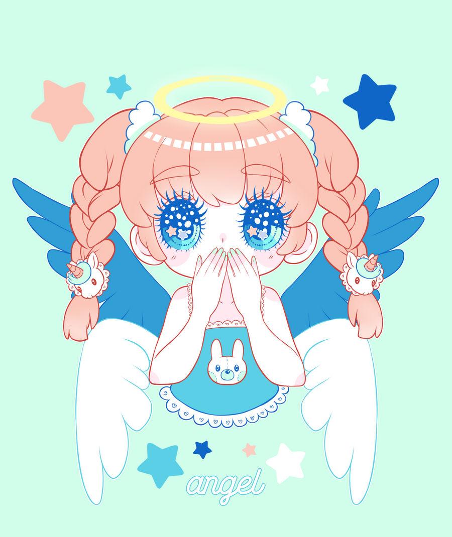angel by marikyuun
