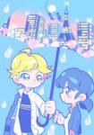 Umbrella by marikyuun