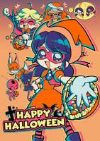 Have a Miraculous Halloween! by marikyuun