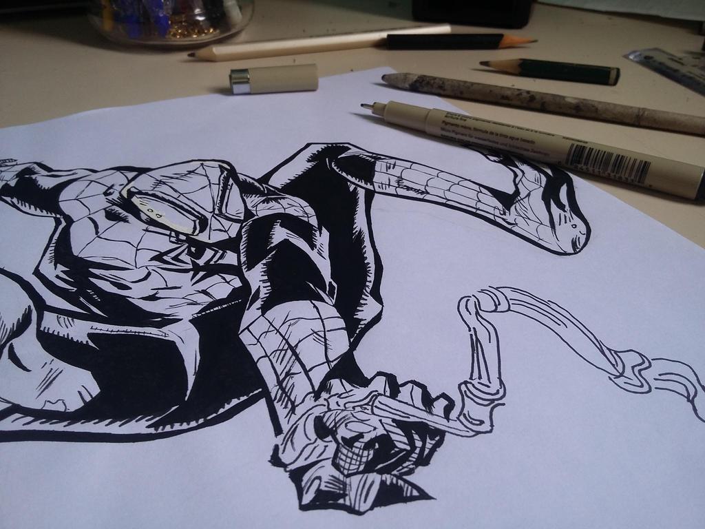Homem Aranha Desenho By Rafmadragon On Deviantart
