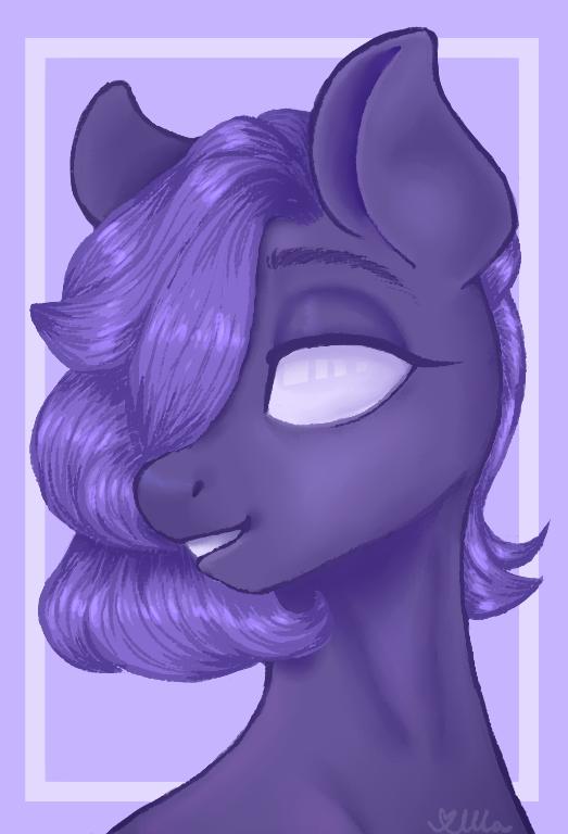 Test-Widmo Pony by Wodomirka