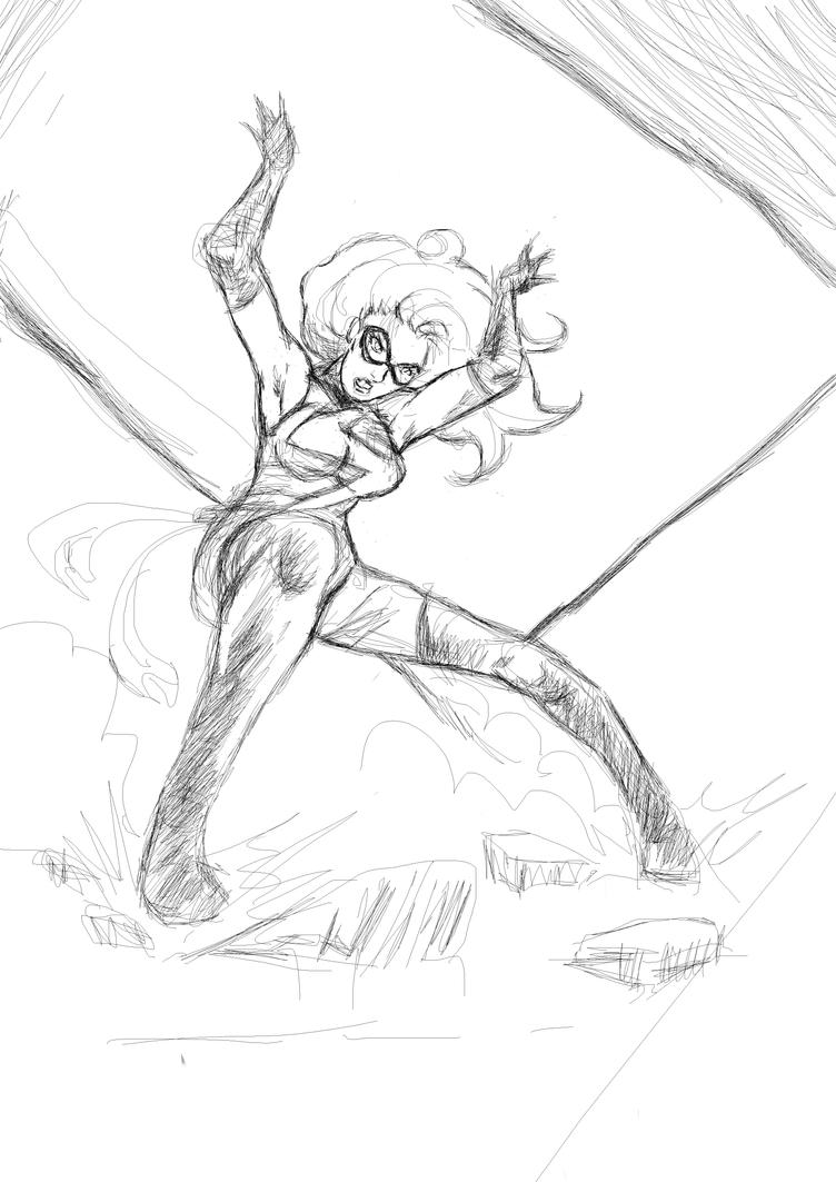 MsMarvel doddle by grams2300