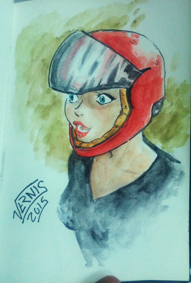 Red Helmet by grams2300