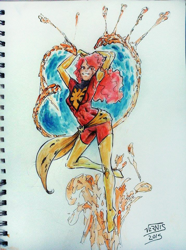 Dark Phoenix by grams2300