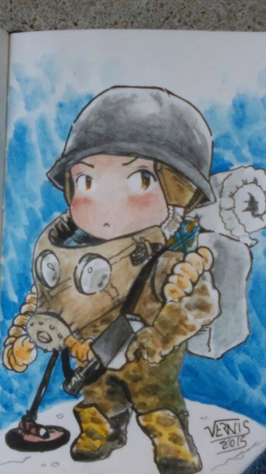 Chibi soldier by grams2300