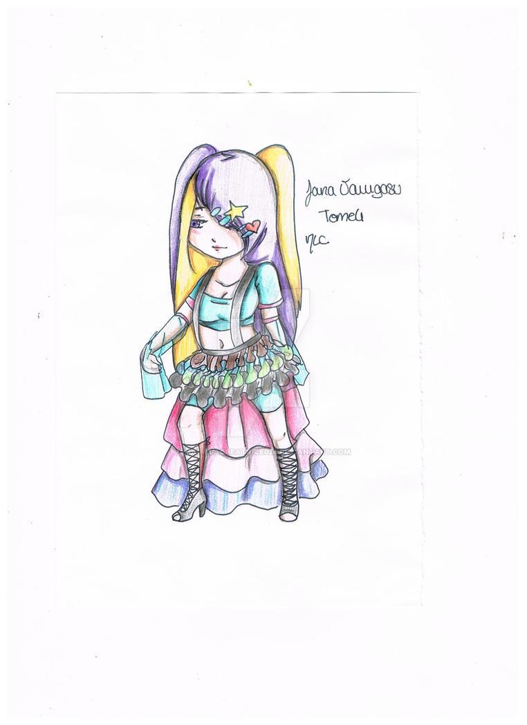Jana Varugasu Tome4 Scan CHIBI by MarieLaCreatrice028