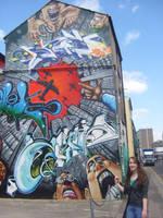 Brighton Grafitti by TheStatueGirl