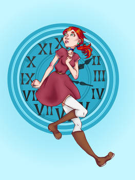 Time travel girl, another version