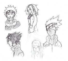 Naruto sketches
