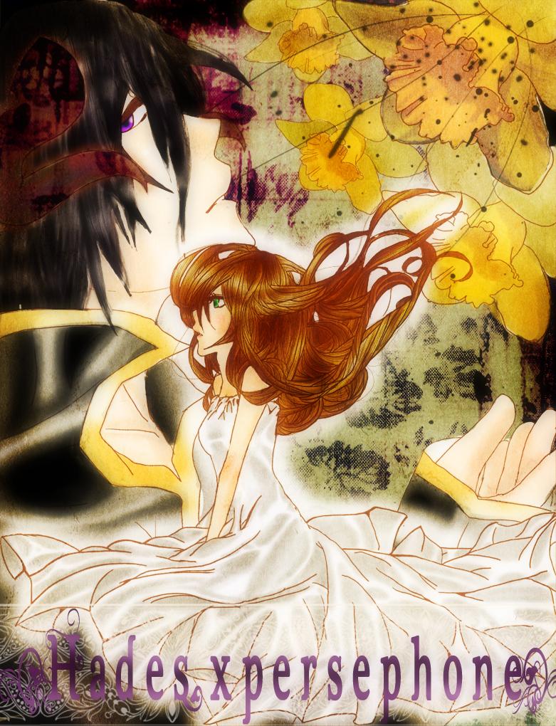 Hades and Persephone by PhantomPanda on DeviantArt