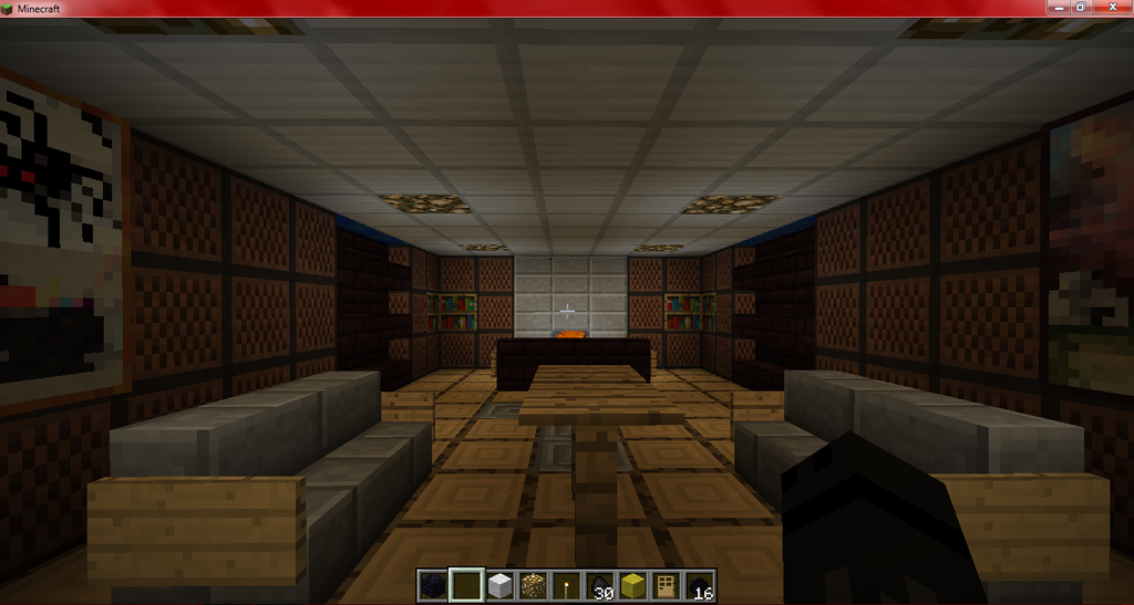 Minecraft: Underground Living Room pic 1 by The-Last ...