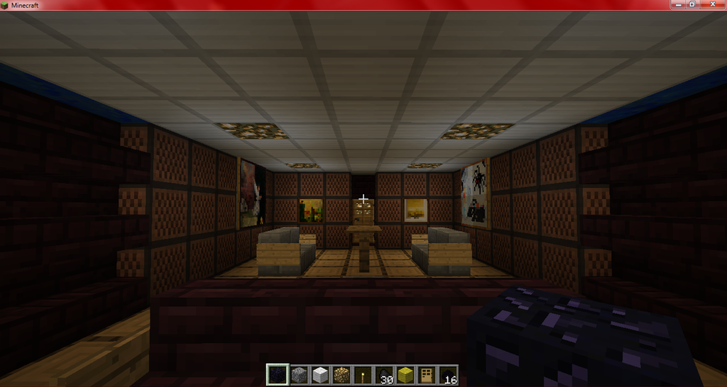 The gallery for minecraft living room designs for Living room ideas in minecraft
