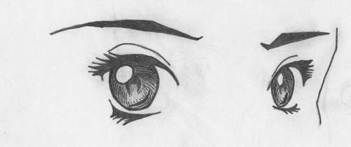 manga eyes 1 by SongOfAlbionTri