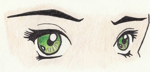 manga eyes 2 by SongOfAlbionTri