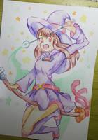 Akko Little Witch Academia by DragoNekoArt