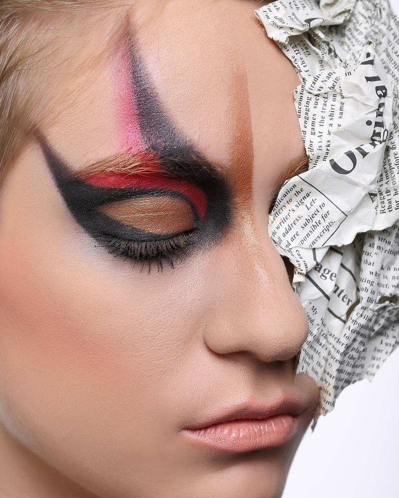 Makeup Modeling #3 by never-going-back