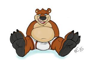 Bear paws by Krunchycroc