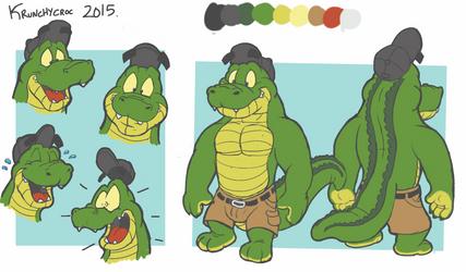 Krunchycroc Character sheet