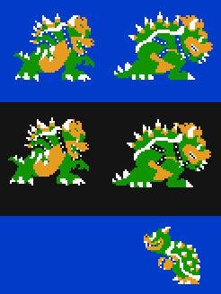 Super Smash Bros. NES Bowser