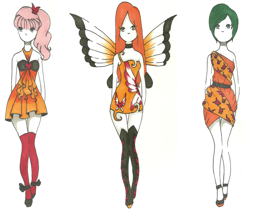 Paramore fashion set by Aii-Cute