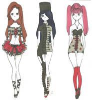 My Chemical Romance fashion set by Aii-Cute