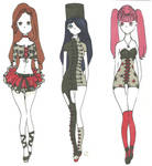 My Chemical Romance fashion set