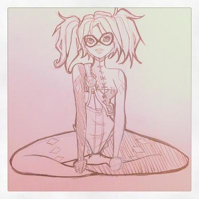 Harley Quinn by Aii-Cute