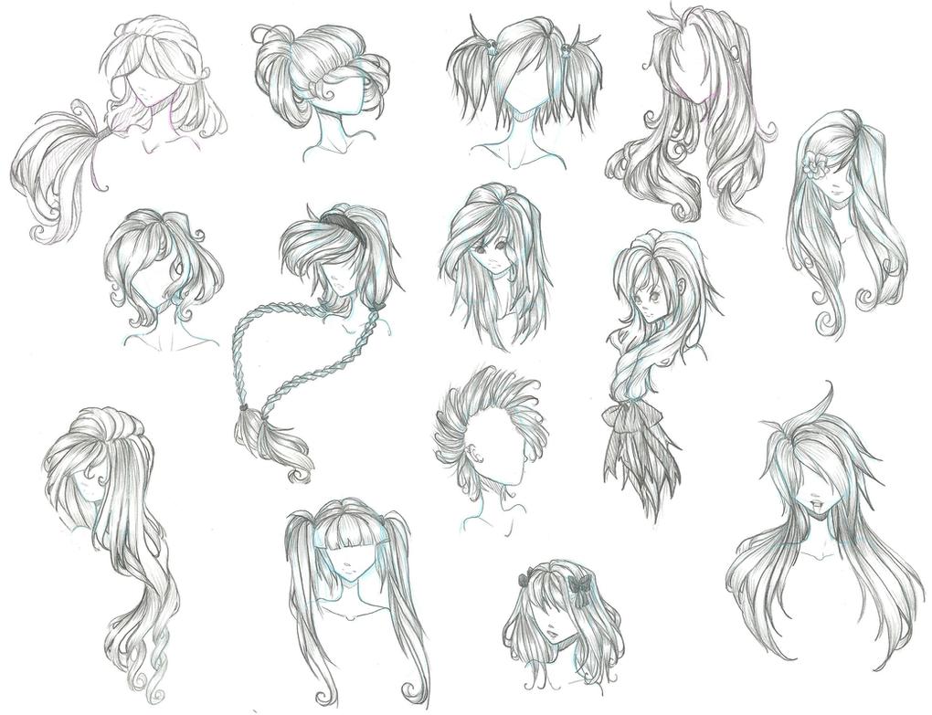 Anime Hair By Aii-Cute On DeviantArt